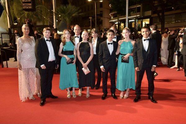 Six jeunes champardennais sur le tapis rouge du Festival de Cannes