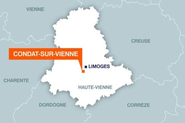 Trois blessés dans un accident à Condat-sur-Vienne, dont un grave