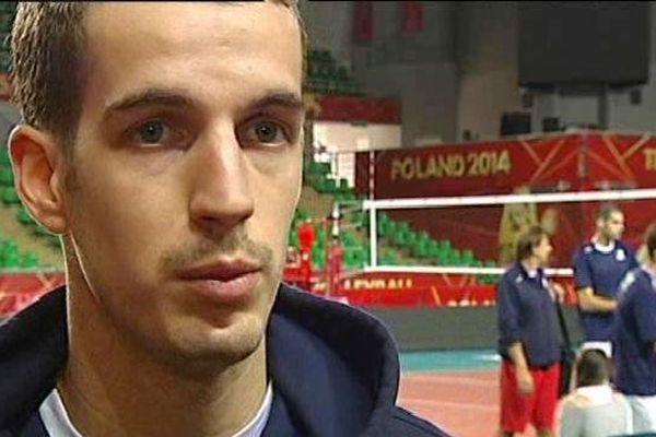 Benjamin Toniutti, capitaine de l'équipe de France de volley-ball