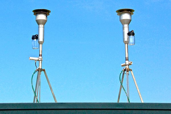 Appareil de mesure de la qualité de l'air -