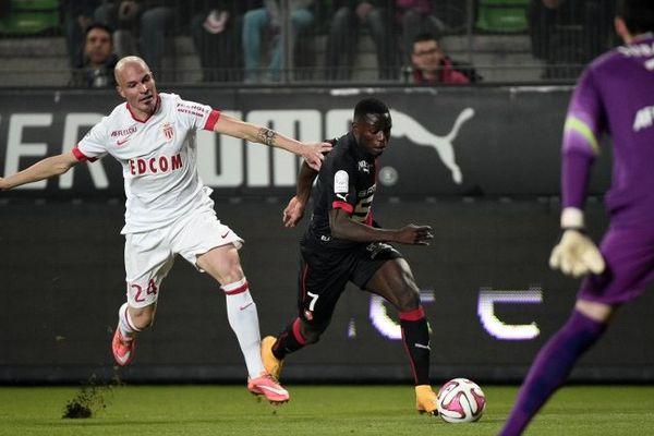 Paul-Georges N'Tep, artisan incontesté de cette victoire sur Monaco.