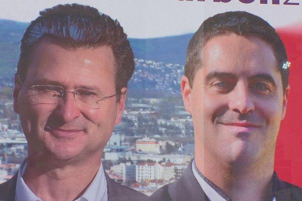 Olivier Longeon et Pierrick Courbon, le candidat écologiste et le candidat de gauche (arrivé en 2e position le 15 mars dernier) donnaient une conférence de presse commune ce mercredi 3 juin