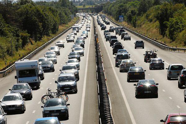 Bouchons sur l'A10 à Niort