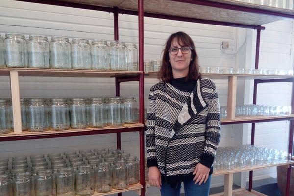 Cécile Auclair est à l'origine de ce projet de Drive 0 déchet en Indre-et-Loire