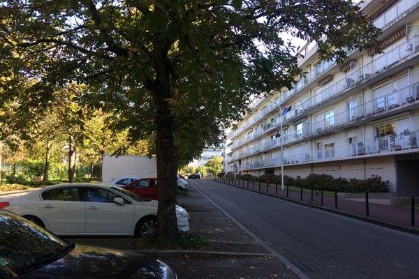la fusillade s'est déroulée rue de Dijon à Saint Herblain