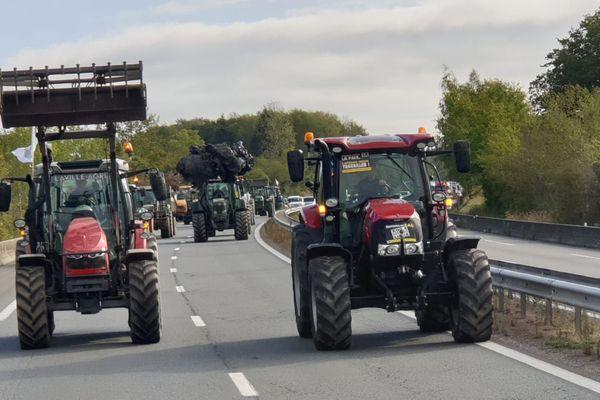 Plus de 150 agriculteurs mobilisés en Limousin