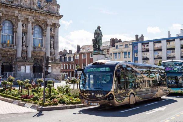 Des bus à Calais