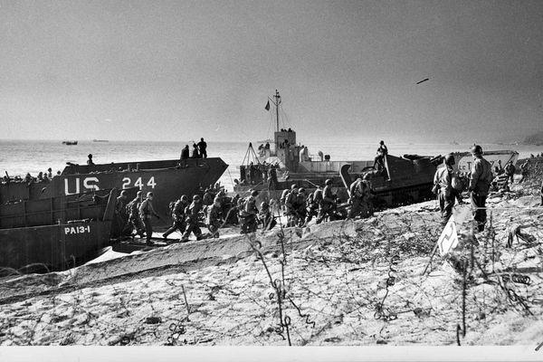 Le débarquement des forces alliées en Normandie, le 6 juin 1944.