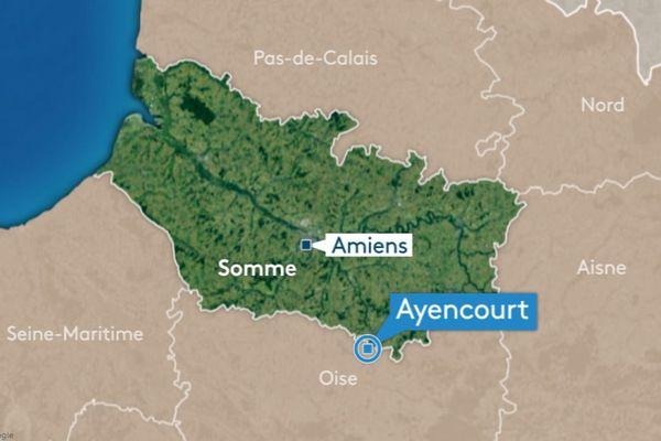 Un homme a trouvé la mort à Ayencourt ce 17 février, percuté par un train