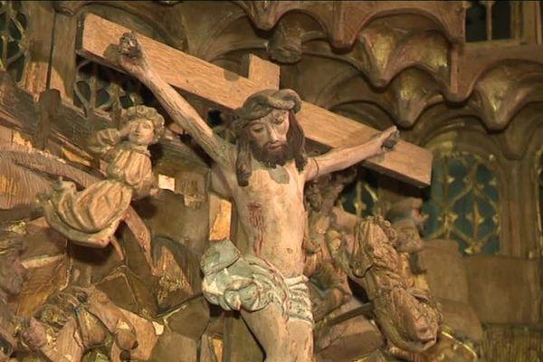 La crucifixion de Jésus, un thème inépuisable pour les artistes.