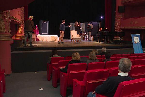 Le théâtre de Perpignan fait peau neuve. Il accueillera des spectacles et fera office de salle de cours pour les étudiants de la faculté de droit
