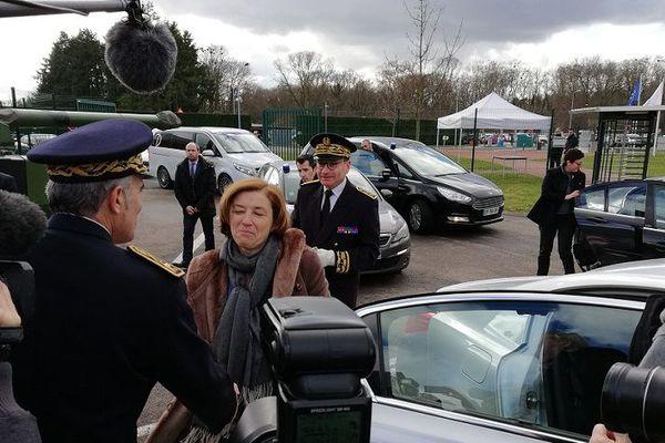 La Ministre des Armées Florence Parly en visite sur le site Nexter, à Roanne - 12/2/18