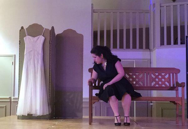 Sonia Menen, chanteuse lyrique, interprète la comtesse