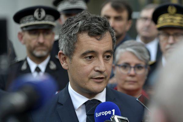 Gérald Darmanin à Lyon le 7 octobre 2021 (illustration)