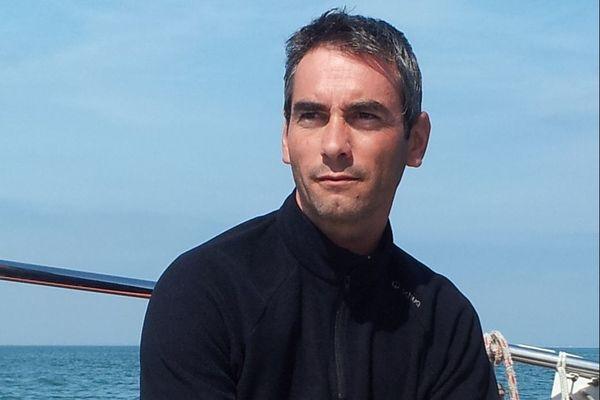 Emmanuel Moreau s'apprête à prendre le départ de son quatrième Vendée Globe