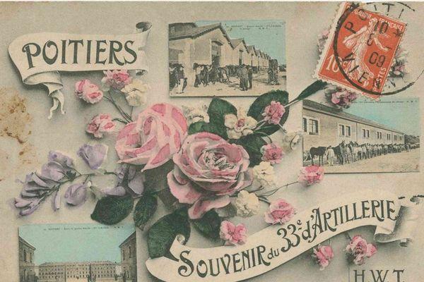 Le 33ème régiment d'Artillerie était installé à Poitiers