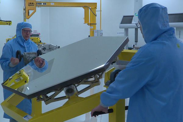 La nouvelle usine Safran de Saint-Benoît a été inaugurée