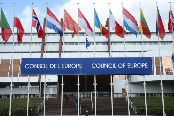 Le Conseil de l'Europe, à Strasbourg.