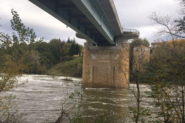Au pont de Salavas