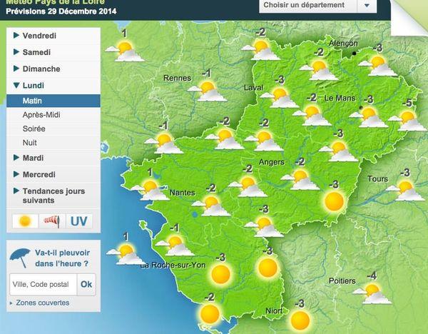 Un temps de saison dès lundi dans la région.