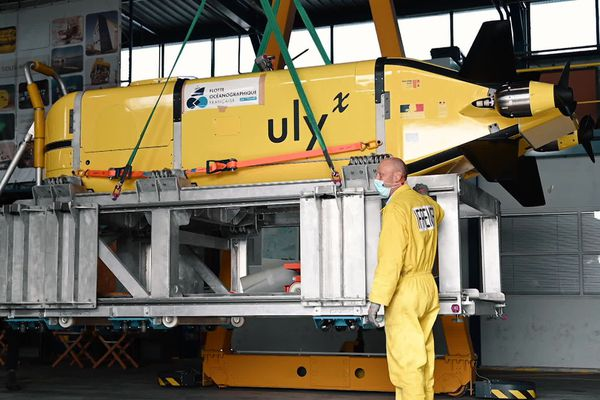 """""""Ulyx"""" un nouveau sous-marin présenté par l'Ifremer"""