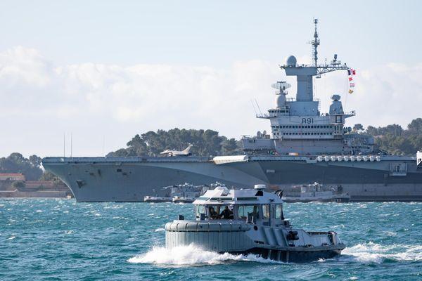 Jean Castex se rendra vendredi 4 juin à bord du porte-avions Charles-de-Gaulle