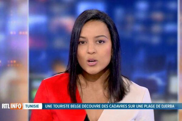 """""""""""Un début de vacances raté pour Charlotte"""", lance la présentatrice du JT de RTL-TVI au sujet de migrants retrouvés morts"""