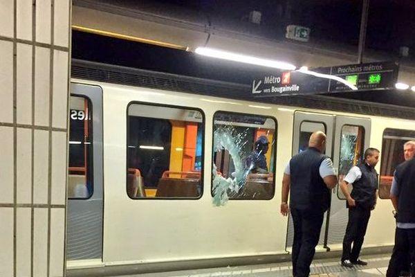La rame de métro