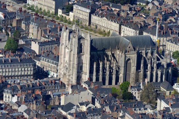 La cathédrale Saint Pierre et Saint Paul à Nantes.