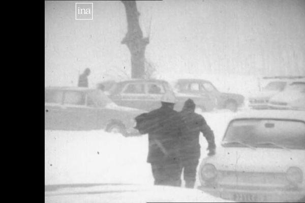 A compter du 26 décembre 1970, la neige tombe trois jours de manière ininterrompue