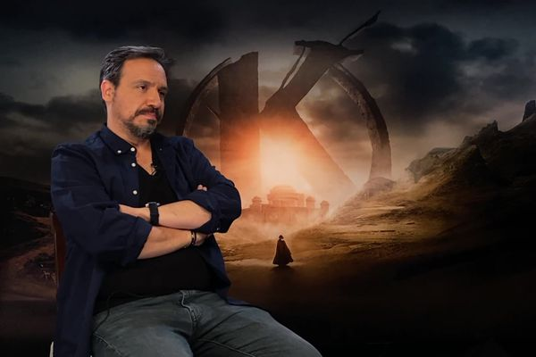 """Alexandre Astier, le réalisateur de Kaamelott voit dans la région lyonnaise un """"outil de travail très efficace pour le cinéma"""""""