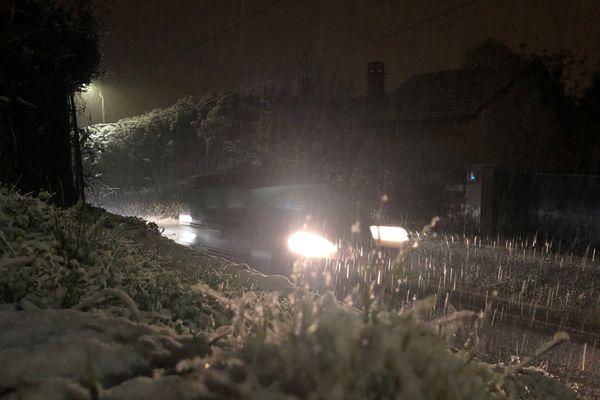 Les conditions de circulation pourraient être délicates en raison des chutes de neige