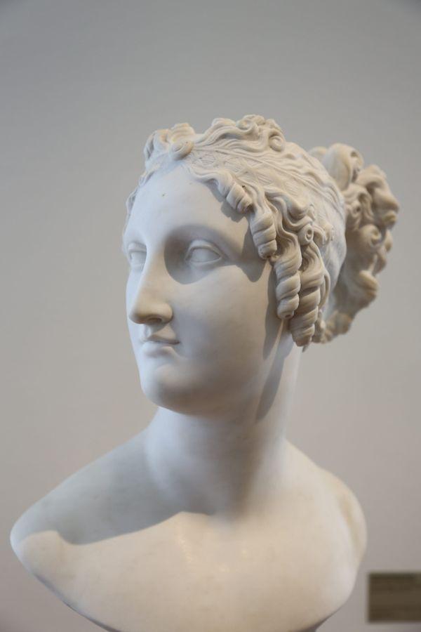 Buste de pauline Bonaparte, sœur de Napoléon.