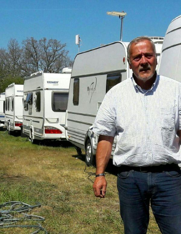Milo Delage, le président de l'association nationale France Liberté Voyage