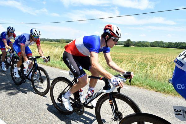 Le triple champion de France a tenu un rôle d'équipier dimanche à Epinal.