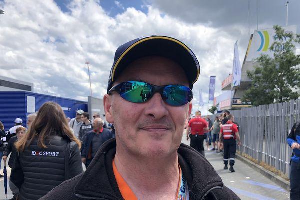 Bruno est un pur fan il vient aux 24h du Mans depuis 1987