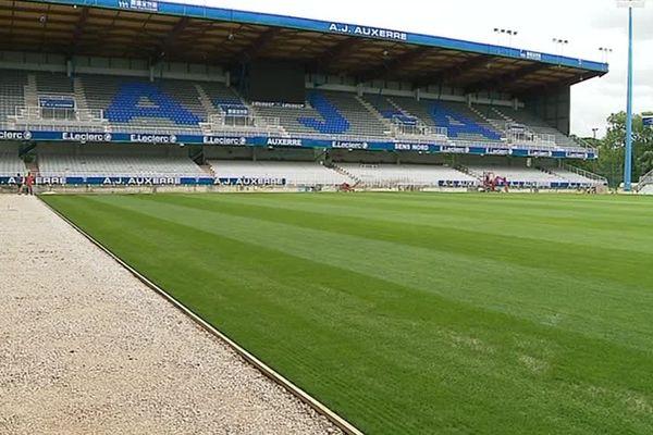 Le stade de l'Abbé Deschamps retrouvera la compétition le 3 août, avec la réception du Gazélec Ajaccio.