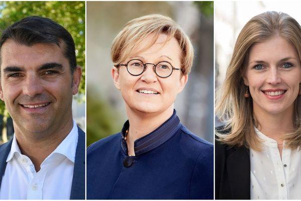 Nathalie Appéré, la maire sortante (PS alliée avec les Verts) sera face à Carole Gandon (LREM) et Charles Compagnon (DVD) pour le débat du second tour