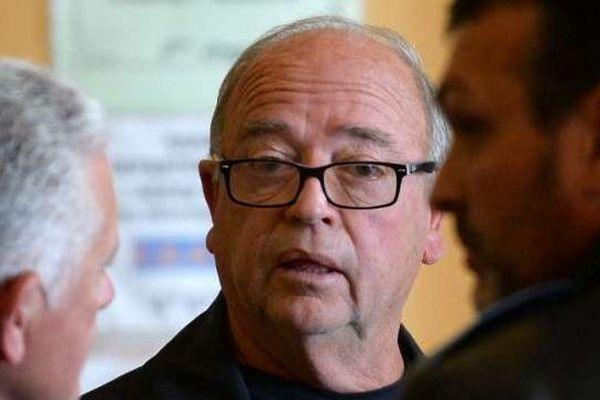 Roland Cassone, 69 ans, figure présumée de la pègre marseillaise, en juin 2013 au procès du Cercle Concorde