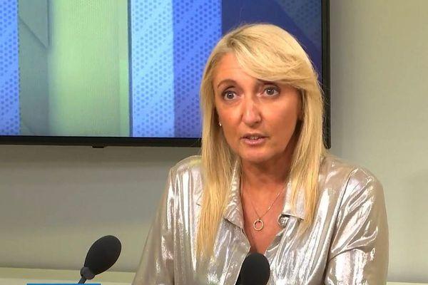 Emmanuelle de Gentili, première adjointe au maire de Bastia et membre du conseil national du parti socialiste.