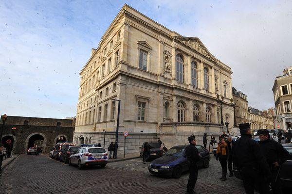 Le tribunal de Boulogne-sur-mer.