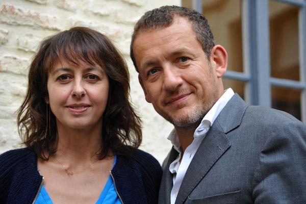 Les comédiens nordistes Valérie Bonneton et Dany Boon.