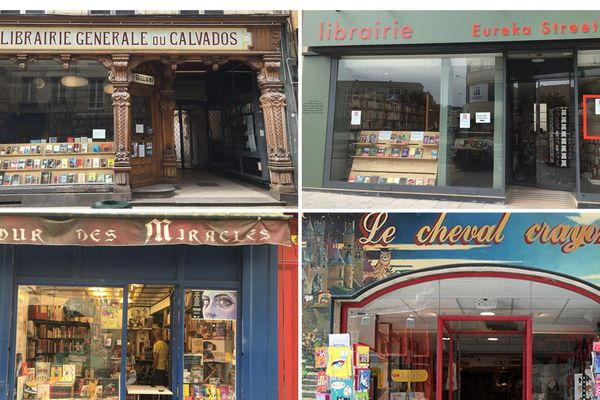 Caen compte une dizaine de librairies indépendantes généralistes ou spécialisées