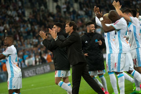 Lors du match contre Bastia au Vélodrome, le 20 mai dernier.