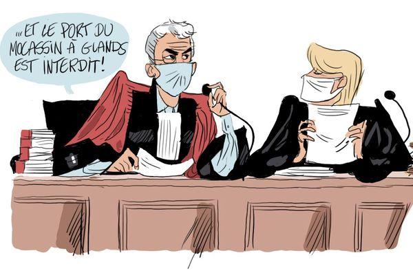 La justice administrative a suspendu l'arrêté qui rendait le masque obligatoire à Reims... pour un temps.