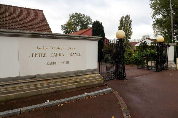 Le centre Zahra France, situé à Grande-Synthe, le 2 octobre 2018.