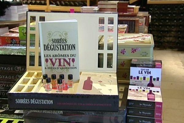 Les boutiques spécialisées proposent de plus en plus d'accessoires pour accompagner la dégustation du vin