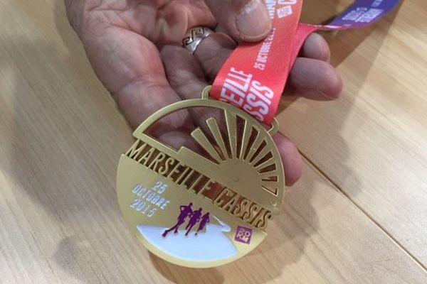 Une médaille pour tous les finishers.
