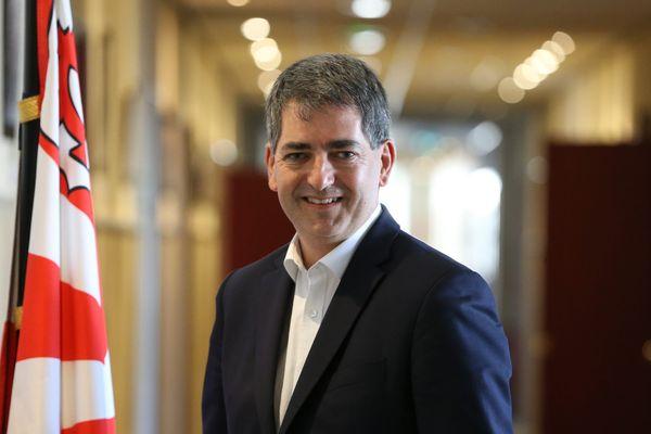 Jean Rottner, nouveau président de la région Grand Est