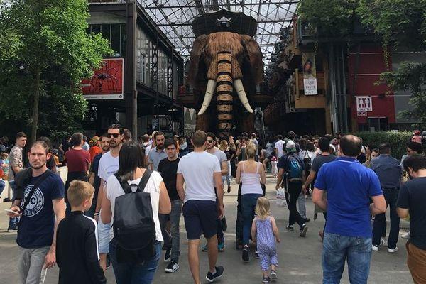 L'Elephant de Nantes en juin 2018